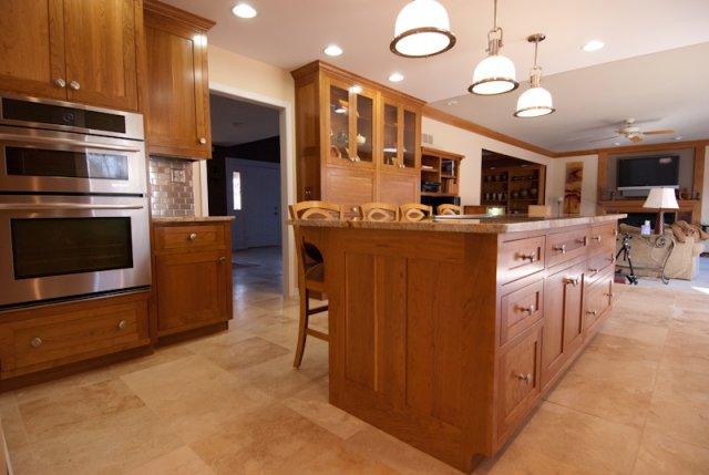 Gardner Kitchen 064 Shaker Cherry Kitchen Hinrichs