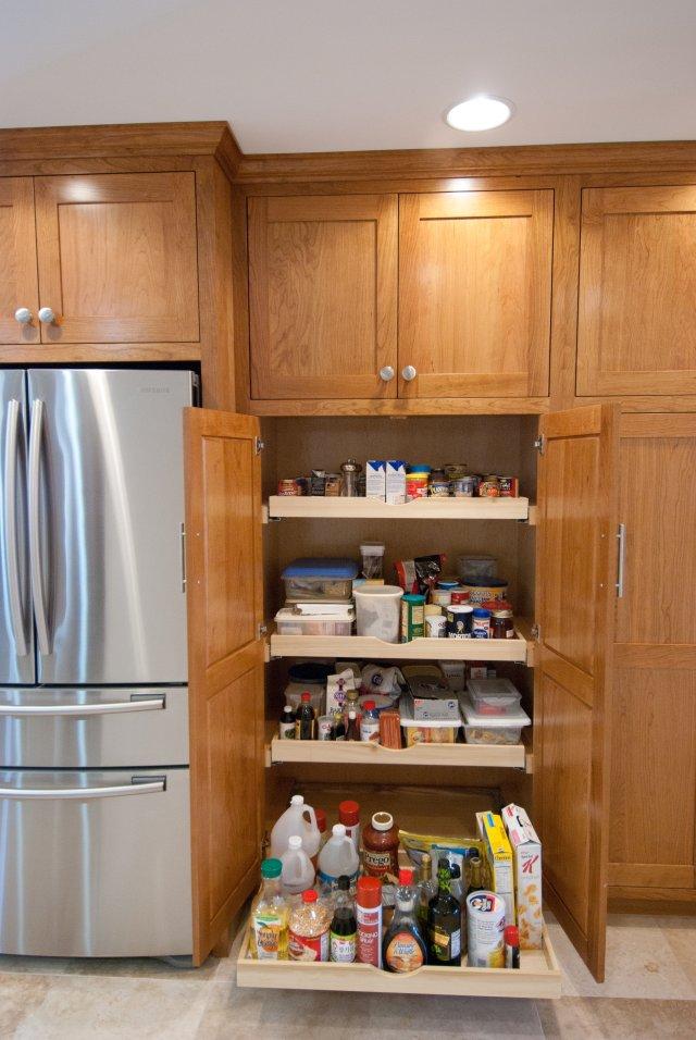 Lost Photos 134 Shaker Cherry Kitchen Hinrichs Fine