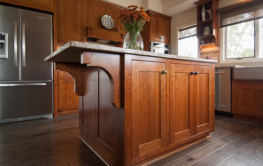 Beau Photo Of Custom Kitchen Island