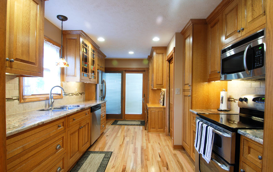 Custom Kitchen Cabinets, Custom Built Furniture - Hinrichs ...
